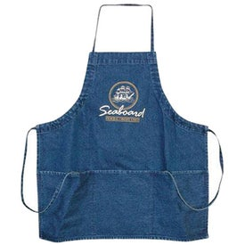 Denim 3-Pocket Apron (Unisex)