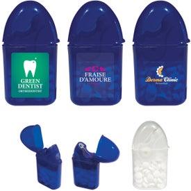 Custom Dental Floss and Mint Combo