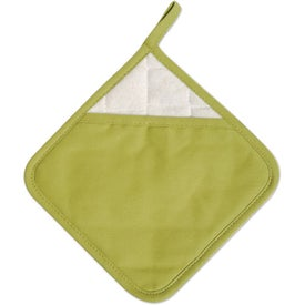 Imprinted Diamond Ad-Holder Pot Holder
