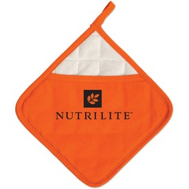 Branded Diamond Ad-Holder Pot Holder