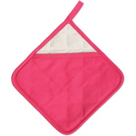 Company Diamond Ad-Holder Pot Holder