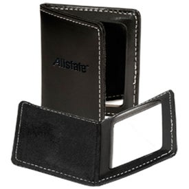 Branded Diamond District Magnetic Pocket Mirror