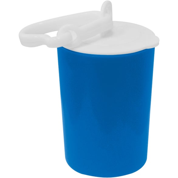 Blue / White Diaper and Pet Waste Disposal Bag Dispenser