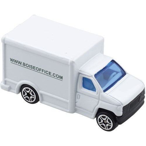 White Die Cast Delivery Truck
