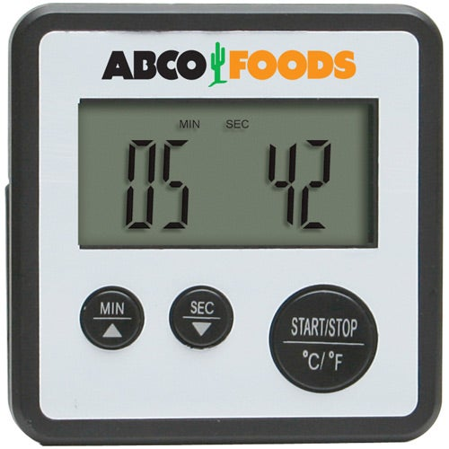 Silver / Black Digital Food Thermometer