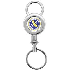 Digital Insert Key Chain Imprinted with Your Logo