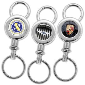 Digital Insert Key Chain Branded with Your Logo