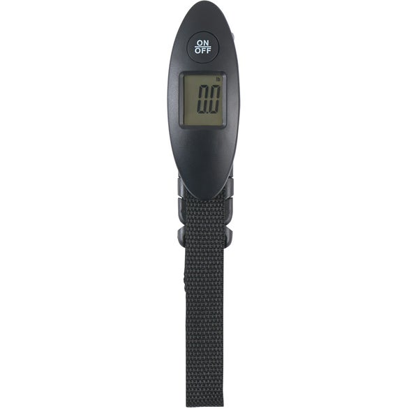Black Digital Luggage Scale