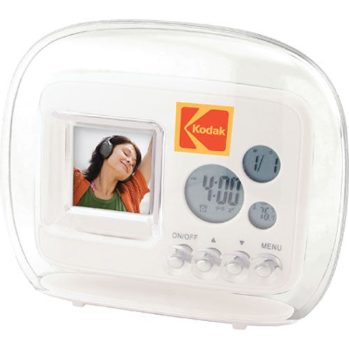 Mini Digital Frame with Clock