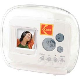 Mini Digital Frame with Clock