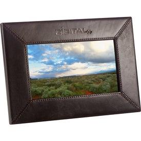 "Promotional 7"" Leather Digital Photo Frame"