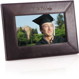 "Company 7"" Leather Digital Photo Frame"