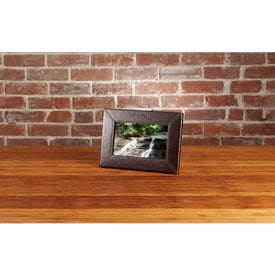 "Customized 7"" Leather Digital Photo Frame"