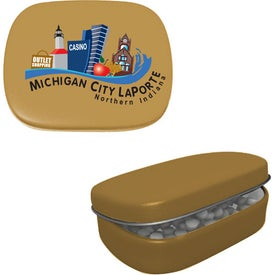 Hinged Mint Tin for Marketing