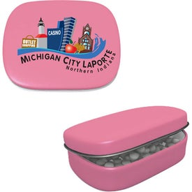 Personalized Hinged Mint Tin