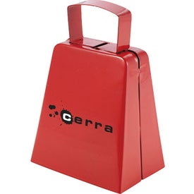 Dinner's Ready Cowbell Imprinted with Your Logo