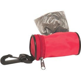 Monogrammed Dirty Diaper Bag Dispenser