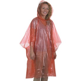 Branded Disposable Poncho