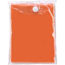 Disposable Poncho Branded with Your Logo
