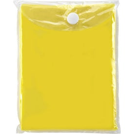Disposable Poncho for Marketing