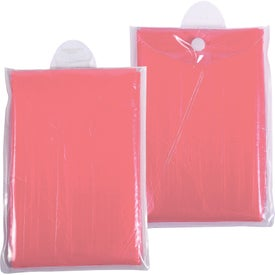 Disposable Rain Poncho Branded with Your Logo