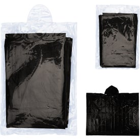 Disposable Rain Poncho for Your Organization