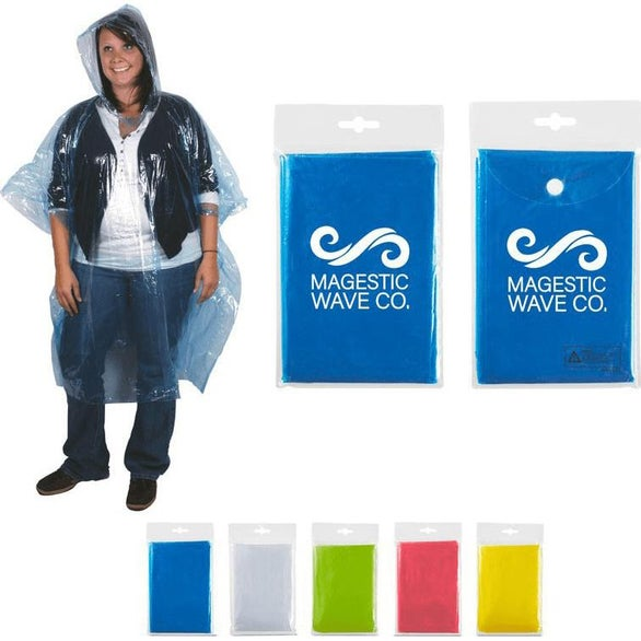 Disposable Rain Poncho