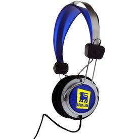 Monogrammed DJ Style Head Phones