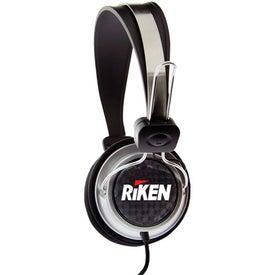 Branded DJ Style Head Phones