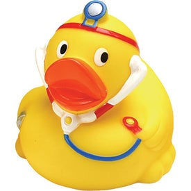 Printed Doctor Rubber Duck