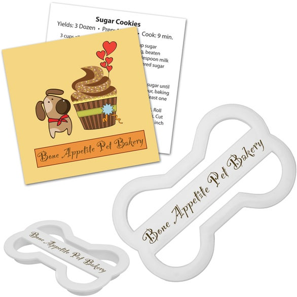 See Item Dog Bone Cookie Cutter