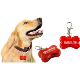 Branded Dog Safety Flasher