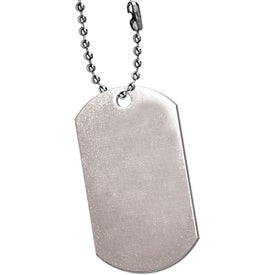 Dog Tag Printed with Your Logo