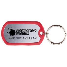 Dog Tag Keytag for Customization