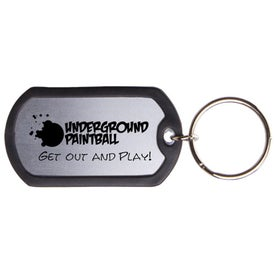 Dog Tag Keytag Printed with Your Logo