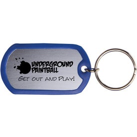 Dog Tag Keytag for Your Church