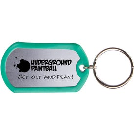 Dog Tag Keytag for Your Company