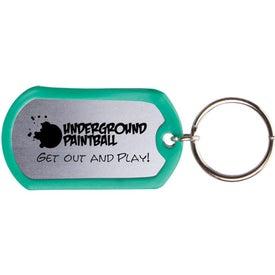 Dog Tag Keytag for Your Company