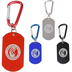 Dog Tag on Carabiners