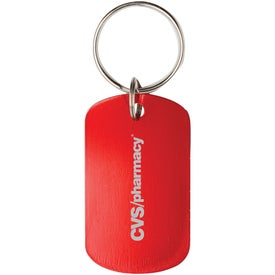 Dog Tags Key Chain
