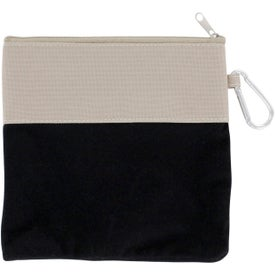Monogrammed Dog Travel Pouch