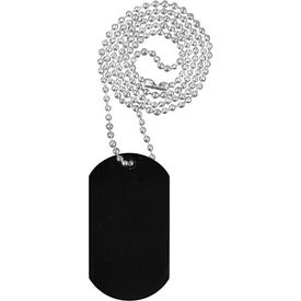 "Dog Tag with 23 1/2"" Ball Chain Giveaways"