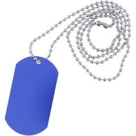 Dog Tag Ball Chain for Advertising