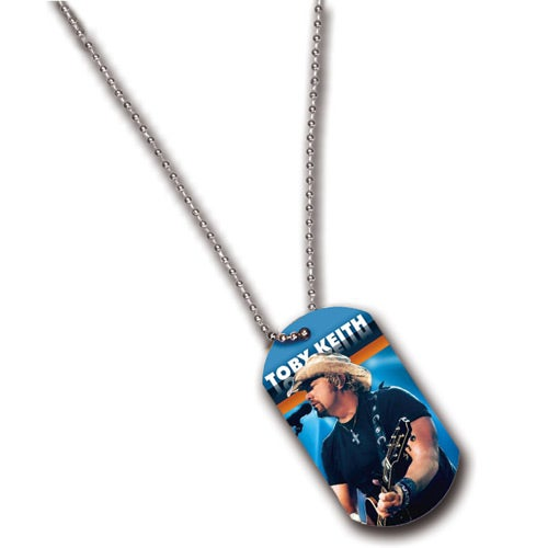Full Color Imprint Dog Tag Ball Chain