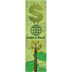 Dollar Sign Seed Shape Bookmarks