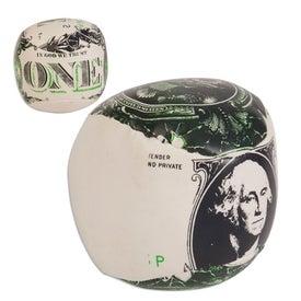 Dollar Bill/Financial Theme Pillow Ball Giveaways