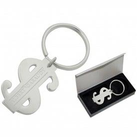 Dollars'n Sense Keychain for Your Company