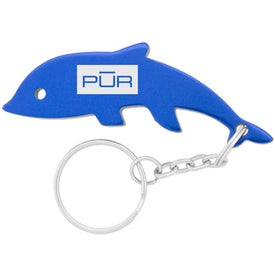 Dolphin Key Chains Imprinted with Your Logo