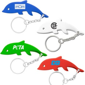 Dolphin Key Chains for Your Company