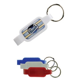 Domed Plastic Bottle Opener for Your Company